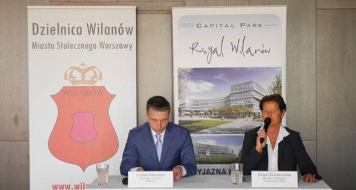 Inwestycje, Wilanowie będą place miejskie - zdjęcie, fotografia