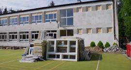 Remont budynku szkoły przy ulicyPrzyczółkowej