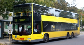 Linia 180 wozić będzie Warszawiaków piętrowym autobusem